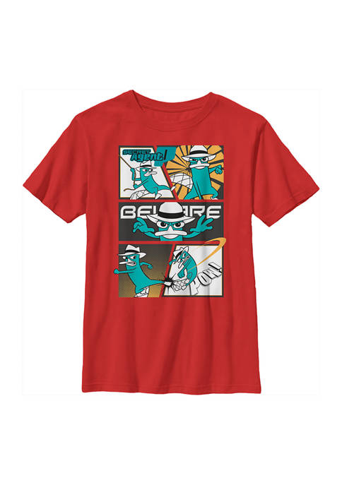 Boys 4-7 Phineas and Ferb Agent P Box Up Top