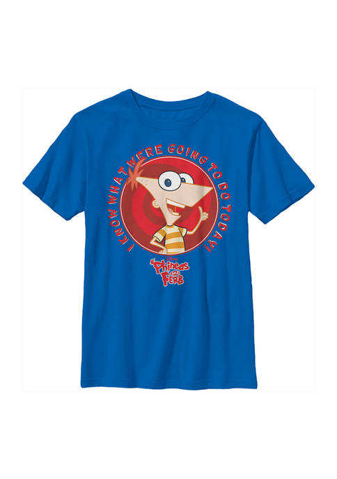 Boys 4-7 Phineas and Ferb Phineas Do Today Top