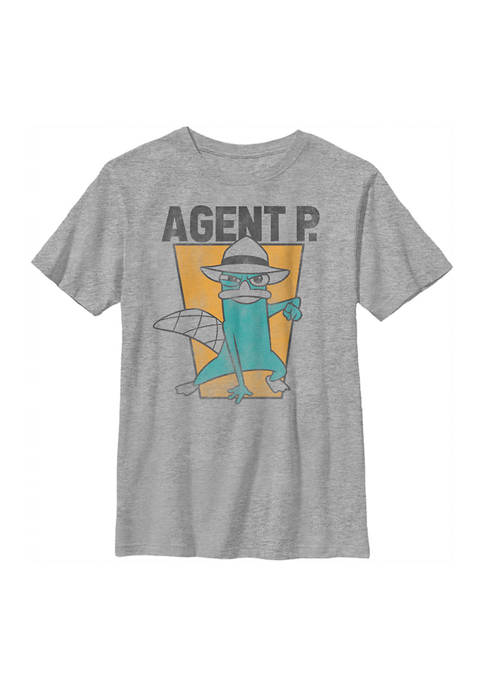 Boys 4-7 Phineas and Ferb Agent P Top