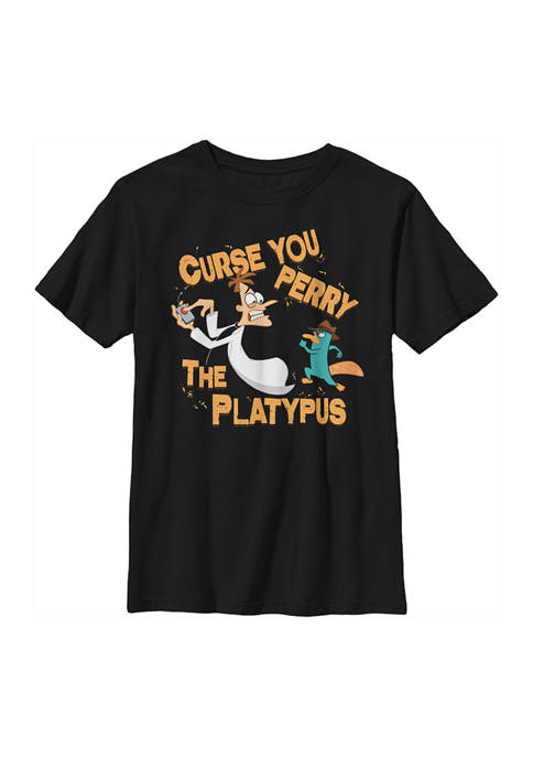 Boys 4-7 Phineas and Ferb Curse you Top