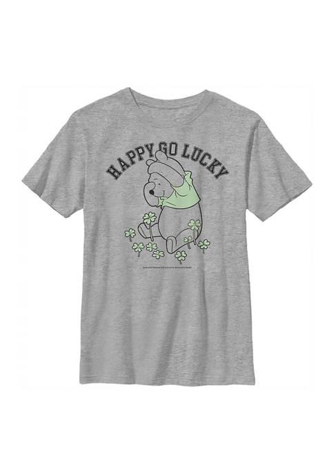Disney® Boys 4-7 Lucky Pooh Graphic T-Shirt