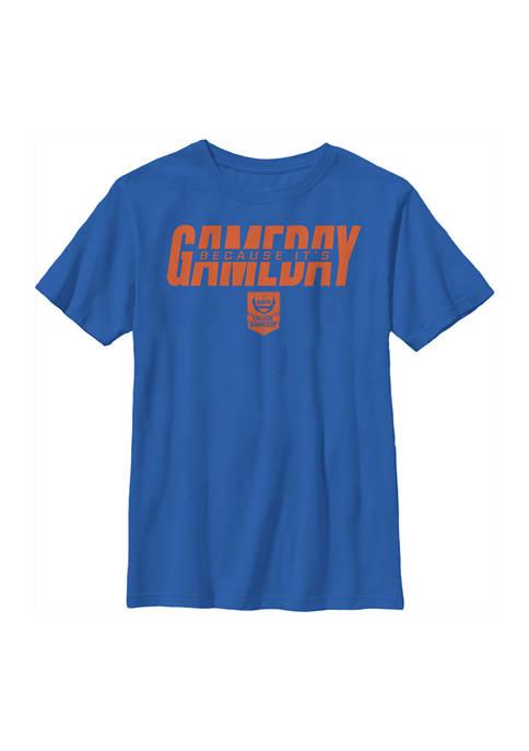 ESPN Boys 4-7 Gameday Orange Graphic T-Shirt