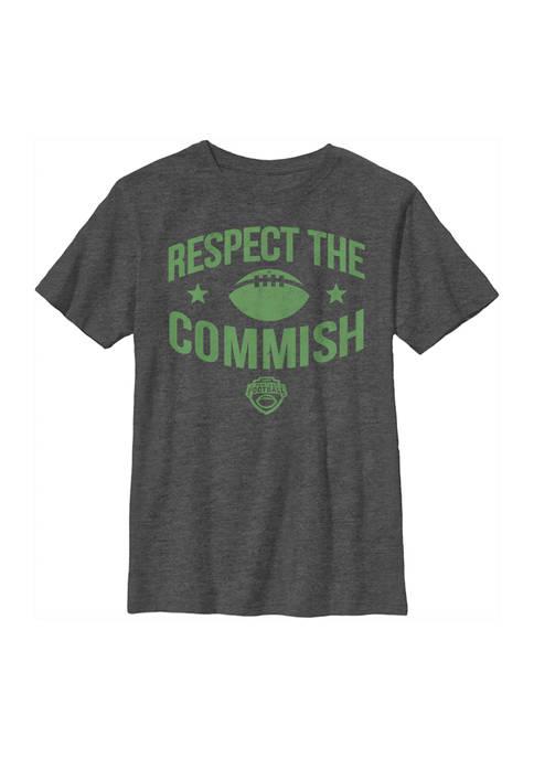 ESPN Boys 4-7 Respect the Commish Graphic T-Shirt