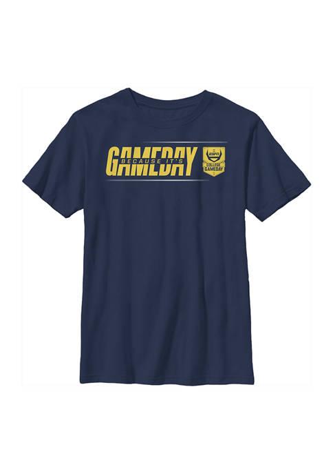 ESPN Boys 4-7 Line Gameday Yellow Graphic T-Shirt