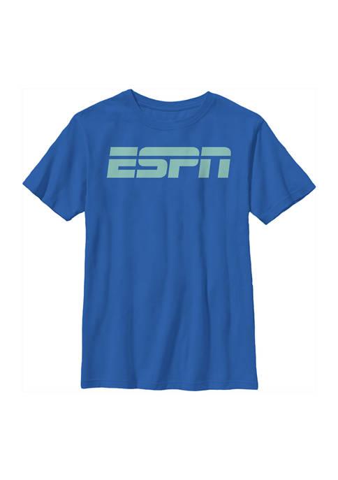 ESPN Boys 4-7 Black Logo Graphic T-Shirt
