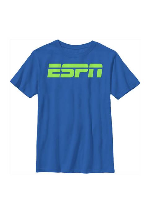 Boys 4-7 Black Logo Graphic T-Shirt