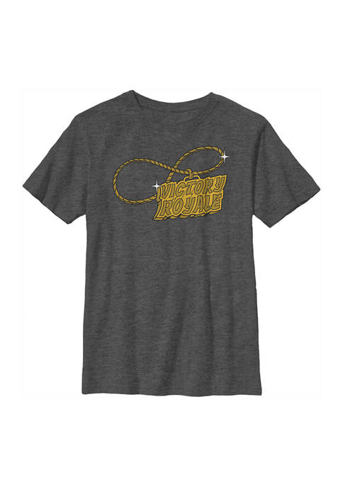 Boys 4-7  Victory Royale Gold Graphic T-Shirt