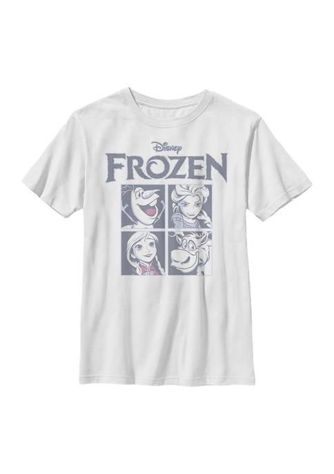 Boys 4-7 Frozen Ice Cubes Top