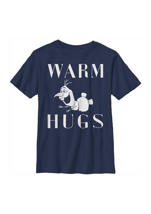 Disney® Frozen Boys 4-7 Frozen Warm Hugs Top