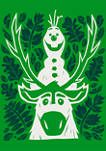 Boys 4-7 Frozen Olaf Sven Leaves Graphic T-Shirt