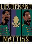 Boys 4-7 Frozen Lieutenant Mattias Graphic T-Shirt