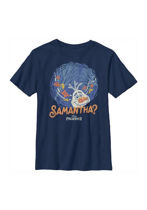 Disney® Frozen Boys 4-7 Frozen Smantha Graphic T-Shirt