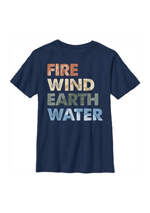 Boys 4-7 Frozen Element Stack Graphic T-Shirt