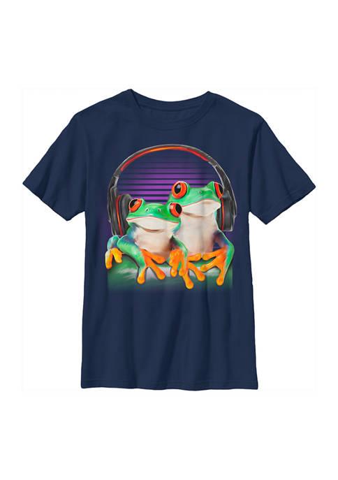 Fifth Sun™ Boys 4-7 Frog Phones T-Shirt