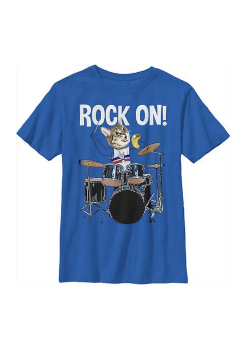 Fifth Sun™ Boys 4-7 Rockin Cat T-Shirt