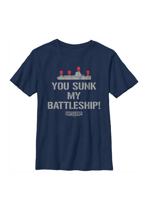 Boys 4-7 You Sunk My Battleship Graphic T-Shirt