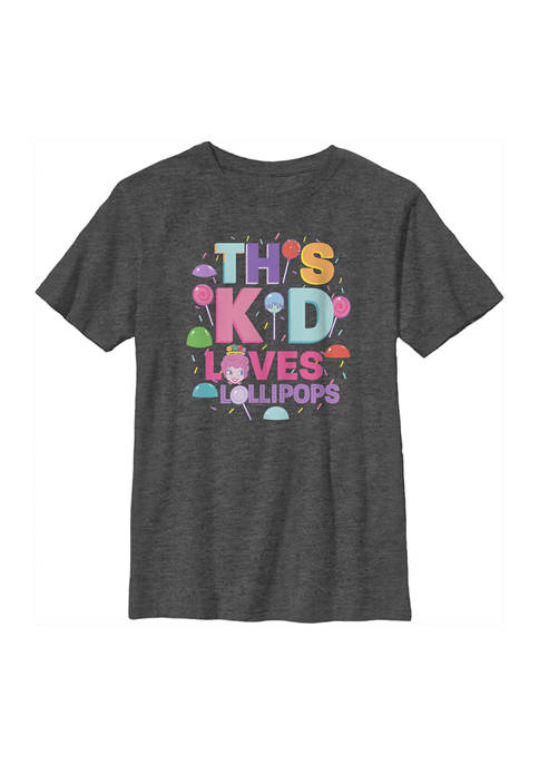 Candy Land Boys 4-7 Lollipops Graphic T-Shirt