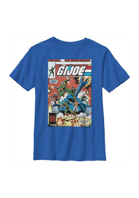 GI Joe Boys 4-7 Comic Poster Graphic T-Shirt