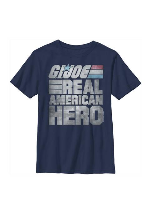 GI Joe Boys 4-7 American Hero Graphic T-Shirt