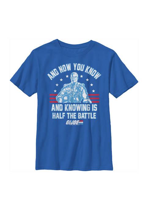 GI Joe Boys 4-7 Collegiate Knowing Graphic T-Shirt
