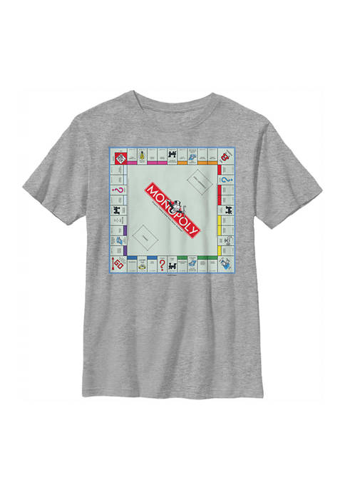 Monopoly Boys 4-7 Gameboard Graphic T-Shirt