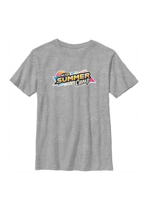 Nerf Boys 4-7 Camp Graphic T-Shirt
