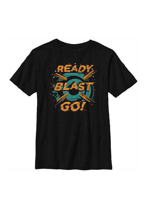 Boys 4-7  Ready Blast Go Graphic T-Shirt
