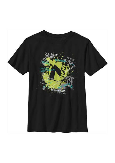 Boys 4-7  Nerf Graffiti Graphic T-Shirt