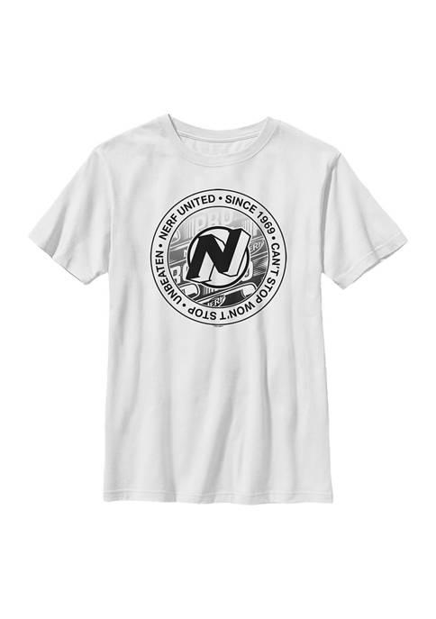 Boys 4-7 Vintage Stamp Graphic T-Shirt
