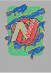 Boys 4-7 Sribble Graphic T-Shirt