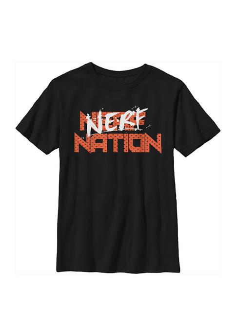 Nerf Boys 4-7 Splatter Graphic T-Shirt