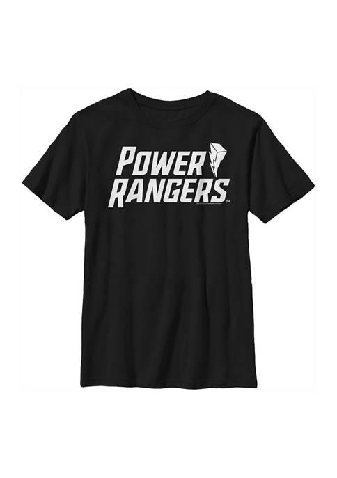 Power Rangers Boys 4-7 Flat Power Logo Graphic