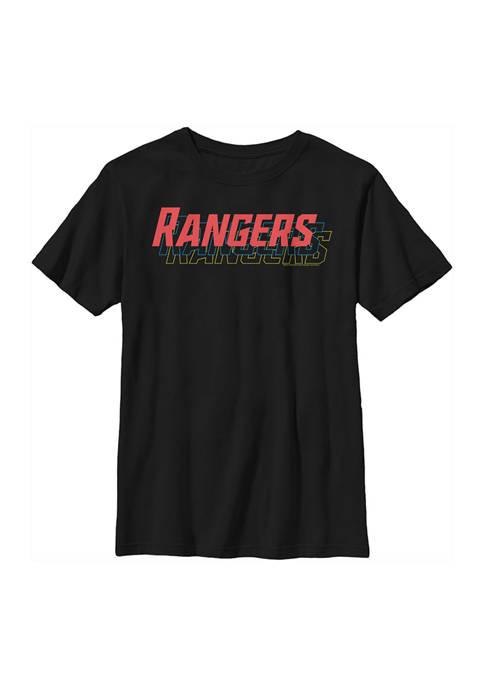 Power Rangers Boys 4-7 Rangers Stack Graphic T-Shirt