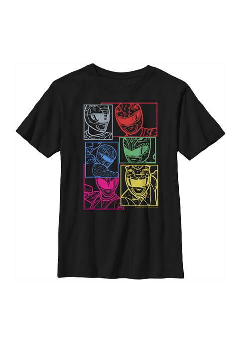 Power Rangers Boys 4-7 Street Graphic T-Shirt