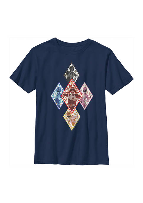 Boys 4-7 The Team In Diamonds Graphic T-Shirt