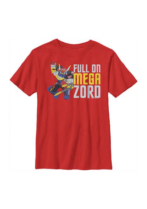 Power Rangers Boys 4-7 Full Zord Graphic T-Shirt