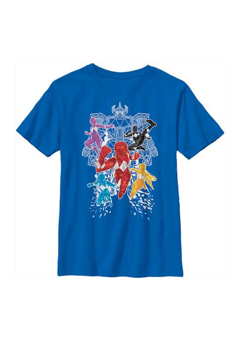 Boys 4-7  Polygon Group Graphic T-Shirt
