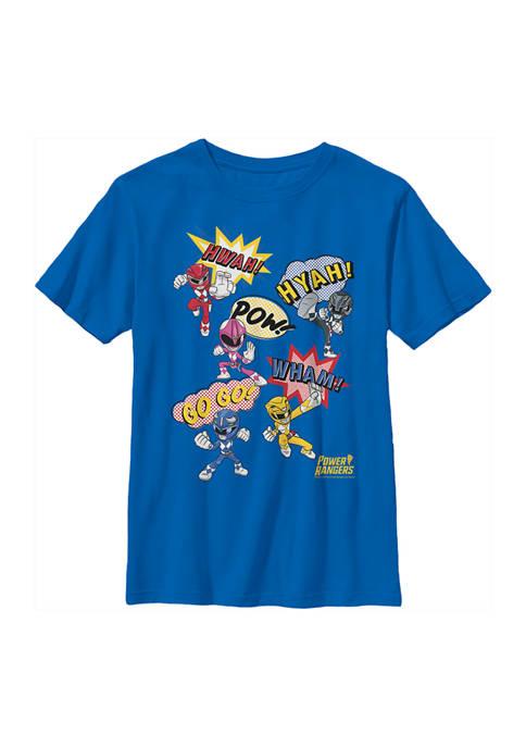 Boys 4-7 Pow Rangers Graphic T-Shirt