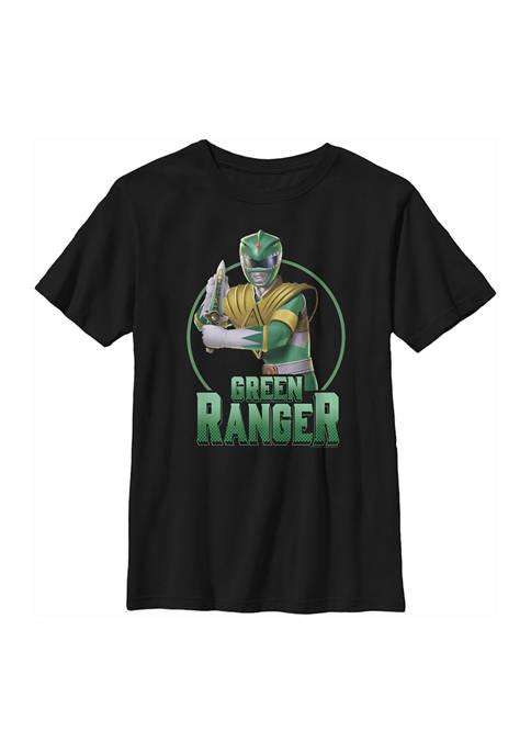 Power Rangers Boys 4-7 Green Graphic T-Shirt