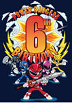Boys 4-7   6th Birthday Graphic T-Shirt