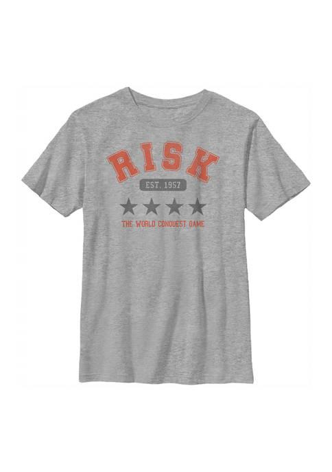 Risk Boys 8-20 Collegiate Graphic T-Shirt