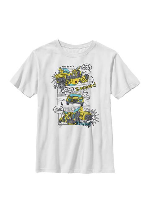 Boys 4-7  Bumblee Comic Graphic T-Shirt