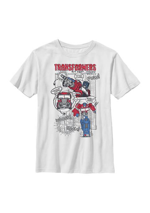 Boys 4-7  Prime Comic Graphic T-Shirt