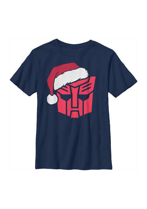 Transformers™ Boys 4-7 Autobots Santa Graphic Top