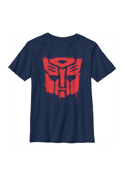 Boys 4-7  Drippy Autobot Graphic T-Shirt