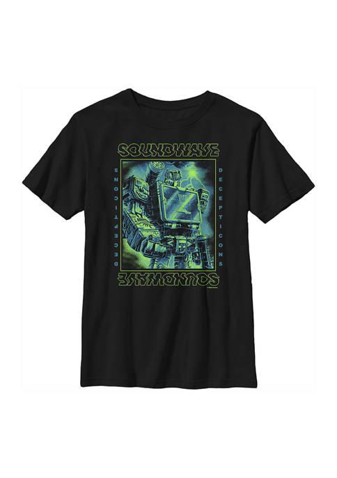 Transformers™ Boys 4-7 Soundwave Graphic T-Shirt
