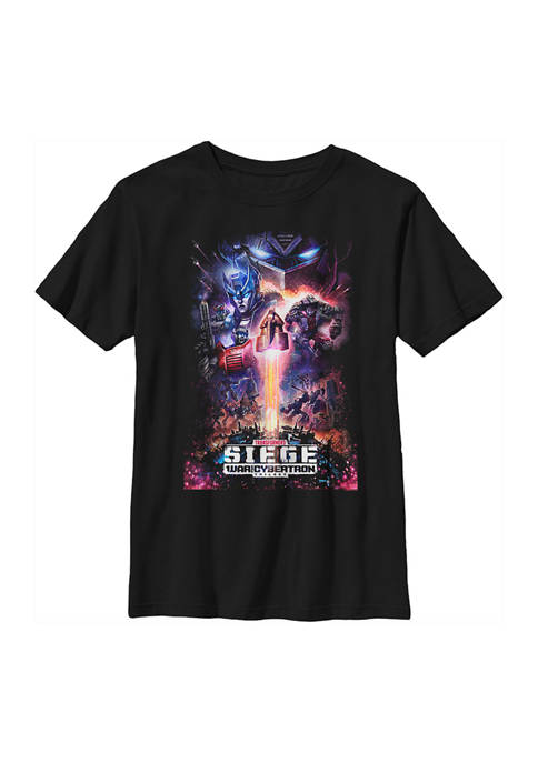 Boys 4-7  Siege Poster Graphic T-Shirt