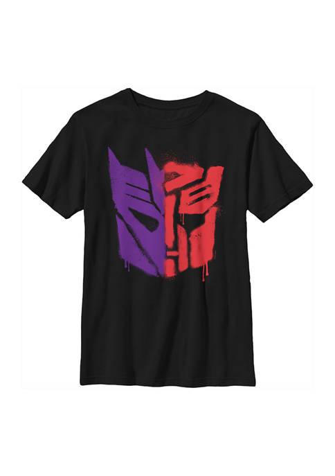 Transformers™ Boys 4-7 Autobot Deception Split Logo Spray