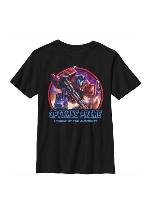Transformers™ Boys 4-7 Optimus Lockup Graphic T-Shirt