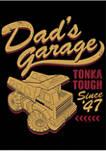 Boys 4-7  Dads Garage Graphic T-Shirt